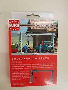 Busch Hof 12375 Field Railway Bock Crane # New Original Packaging #