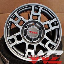 "17"" Toyota TRD Style Platinum Gunmetal Wheels Fits Tundra Sequoia 6x139"