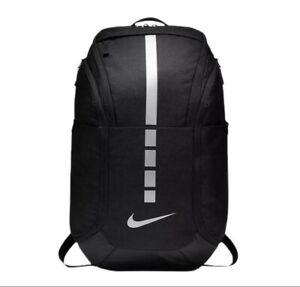 NEW Nike Hoops Elite PRO Basketball Backpack BA5554-011 Black/Metallic Cool Grey