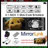 4.1''Single 1Din Voiture Lecteur MP5 Player MP3 Stéréo Radio Bluetooth FM TF USB