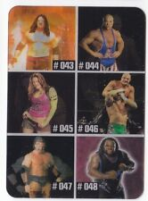 LITA CHECKLIST 2005 WWE ANIMOTION LENTICULAR CARD 008 (ITALY EXCLUSIVE)