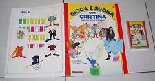 GIOCA E SUONA CON CRISTINA D'AVENA 2 Fascicolo + musicassetta De Agostini 1988