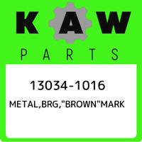 """13034-1016 Kawasaki Metal,brg,""""brown""""mark 130341016, New Genuine OEM P"""