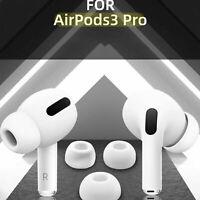 1 Paar Ersatz-Silikonohrstöpsel Bud Zubehör für 3 Pro AirPods Ohrhöre F0H7