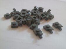 Lego 6019# 20x Platte 1x1 Clip senkrecht grau neu dunkelgrau 7250 7261 10179