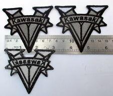 3x vintage kawasaki parts logo motorcycle for sale patch enduro