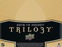 2018-19 Upper Deck Trilogy Green Foil Jerseys/Blue Foil Parallels Pick From List