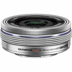 Without Box Olympus M.Zuiko Digital ED 14-42mm F3.5-5.6 EZ Lens Silver