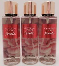 3 VICTORIA'S SECRET ROMANTIC FRAGRANCE BODY MIST PARFUMEE 8.4 oz