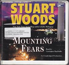 Mounting Fears by Stuart Woods (2009, CD, Unabridged) Will Lee Series Book 6