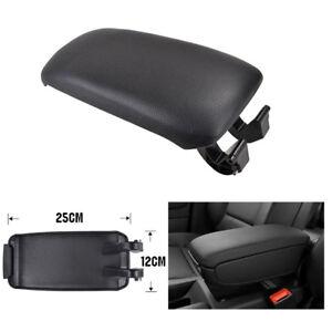 Car Center Console Armrest Lid Cover Latch Clip For Audi A3 8P 2003–2012 Black