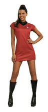 RUBIE'S OFFICIAL STAR TREK MOVIE UHURA ADULT HALLOWEEN COSTUME SMALL 889124