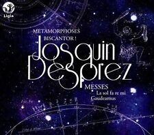 Josquin Desprez: Messes - La sol fa re mi; Gaudeamus (CD, Nov-2013, Ligia)