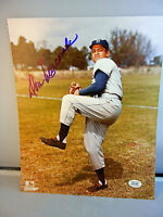 Don Newcombe Autograph Dodgers 8x10 Photo Signed Black Gold COA