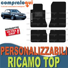TAPPETINI per MERCEDES BENZ CLASSE E (W124) TAPPETI AUTO su MISURA + RICAMO TOP
