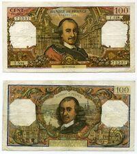 Gertbrolen 100 FRANCS CORNEILLE du 1-4-1971      T.538