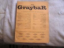 1970 Graybar Catalog Housewares