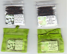 25 Apple Green BABY'S BREATH SEED FAVORS + Blanket Theme + Poem+Free Shipping