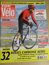 TOP VELO N°133: AVRIL 2008:  SPECIAL LONGUES DISTANCES - 32 ROUES CARBONE - MBK
