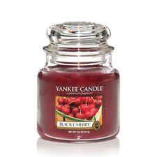 YANKEE CANDLE candela profumata Black Cherry giara media durata 90 ore