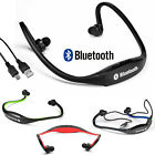 Bluetooth Wireless Headset Stereo Headphone Earphone for Cellphone iPod iPad PC