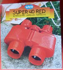 NAVIR SUPER 40 RED BINOCULARS.