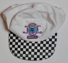 RARE! NOS Dick Clark's American Bandstand Grill Golf Cap - Checkerboard Bill