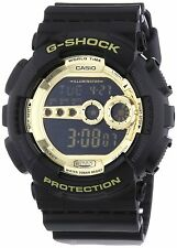 Casio G-Shock World Time X-Large Digital Quartz Black Watch GD100GB-1