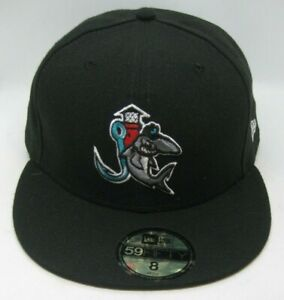 Jupiter Hammerheads MILB New Era 59Fifty Fitted Hat Cap size 8 - NEW
