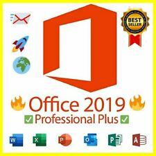 Office2019 Pro Plus Key Vollversion 1 PC Lifetime Multilingual Professional