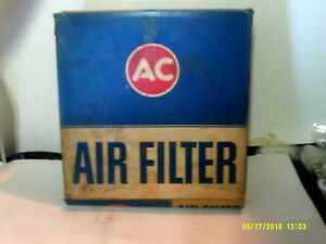 VINTAGE AC (DELCO) A217C AIR FILTER 6421877 FORD GALAXIE 6 CYL 1965