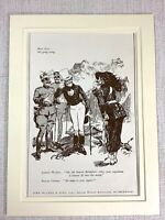 1915 Antico Stampa Johnnie Walker Whisky Pubblicità Italiano Soldier