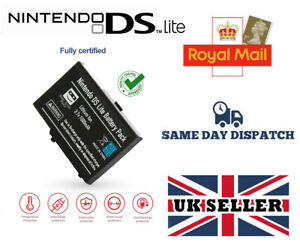 REPLACEMENT BATTERY FOR NINTENDO DS LITE CONSOLE 1000MAH WITH SCREWDRIVER