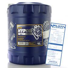 Mannol MN8106-10 Hypoid Getriebeöl 80W-90 API GL 4 GL5 LS Universal Öl 10L