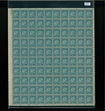 1932 United States Postage Stamp #719 Plate No. 20869 Mint Full Sheet