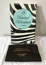 NWT Kate Spade I Married Adventure Wedding Belles Emanuelle Book Clutch $328