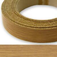 Steamed Beech Iron on Edging Pre Glued Wood VeneerTape 30mm wide Various Lengths