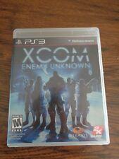 XCOM: Enemy Unknown (Sony PlayStation 3, 2012) PS3 Used