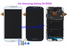 For Samsung Galaxy S4 i9505 LCD Display Touch Screen Digitizer Assembly+ Frame