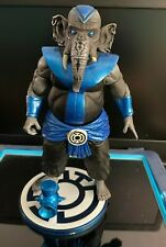 DC DIRECT BROTHER WARTH (GREEN LANTERN SERIES 5) BLUE LANTERN FIGURE COMPLETE