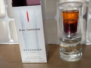 Givenchy EAU TORRIDE 30 ml Eau de Toilette EdT Spray In OVP Vintage