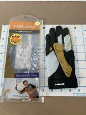 HEAD ( RIGTH  /SMALL ) Racquetball  CONQUEST Glove