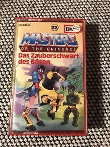 Masters of the Universe Folge 33 Das Zauberschwert des Bösen EUROPA MC MotU