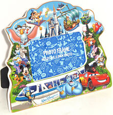 Walt Disney World Storybook Photo Frame Picture Duffy Mickey Cinderella Tinker