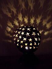 Insolito intagliati a mano Lampada Cocco Stella Design cocco Shell Lampada a LED
