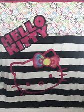 Hello Kitty Girls Reversible Pink 3 Pc Twin Bedding Sheets Saniro Comforter Set