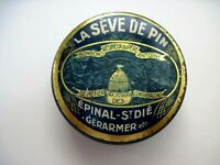 "Vintage Advertising Tin ""Le Bon Miel"" A French Product Made of Pine Wood  *"