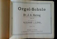 Herzog Orgelschule, Deichertsche Verlagsbuchhandlung, 1910