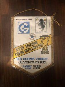 Pennant Gornik Zabrze Poland - Juventus Italy 1989-1990