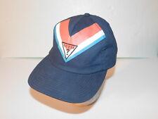 Women's Color Block Guess Snapback Baseball Cap Hat Chevron